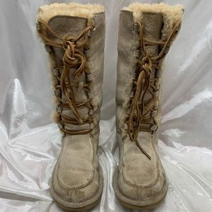 UGG Uptown Lace Up Boots